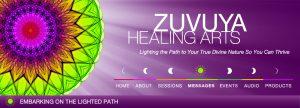 Zuvuya Heals Banner & Navigation