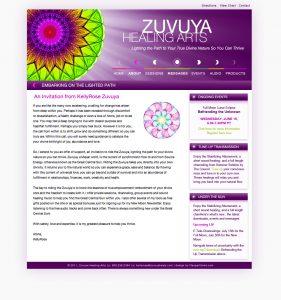 Zuvuya Heals Webdesign