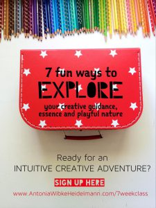 Intuitive Creative Adventure Invitation